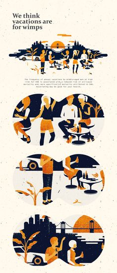 Party illustrations | Editorial illustrations by Andriy Muzichka