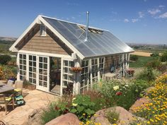 greenhouse, potting shed, from customers vision to fruition Greenhouses, Shed, Building, Green Houses, Glass House, Buildings, Conservatory, Construction, Barns
