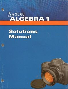 Algebra 1 Solutions Manual 4th edition. Item #: SX160277500 Retail Price: $30.00 Our Price: $22.50