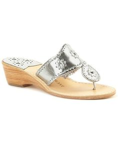 Hamptons Mid Wedge-silver