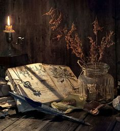 Image about book in ღ Pagan - Magic - Wicca - spells ღ by ❥ Bambi Wiccan, Magick, Photos Amoureux, Tarot, The Magic Faraway Tree, Witch Cottage, Witch Aesthetic, Fantasy Kunst, Book Of Shadows