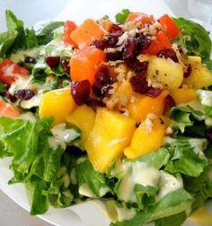 4 Recetas de Ensaladas Agridulces Vegetarianas ⋆ Siendo Saludable