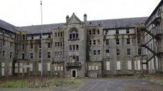 Abandoned Hartwood Victorian insane asylum in Lancashire