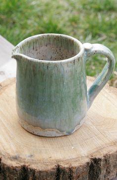 Handmade Ceramic Pitcher (via HappyMud on Etsy)