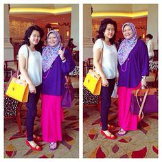 My Hijab..My Style By ArieAnoy ~Shangrila Hotel, Jakarta