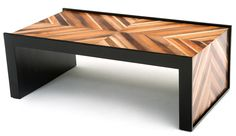 Modern Wood Coffee Table, Contemporary Wooden Table Design