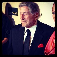 Current GRAMMY nominee and legend Tony Bennett at Pre-GRAMMY Gala - @thegrammys | Webstagram