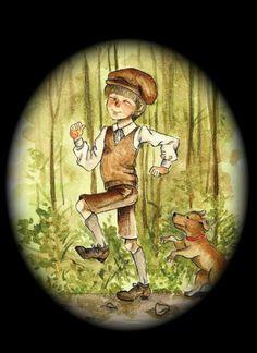 Children's book illustration by Valeria Wicker