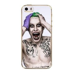 Suicide Squad Joker Harley Quinn Soft TPU Protactive Case Cover for iPhone 5 / 5S / SE