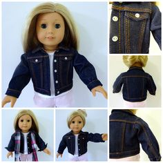 valspierssews doll clothes sewing denim jacket tips