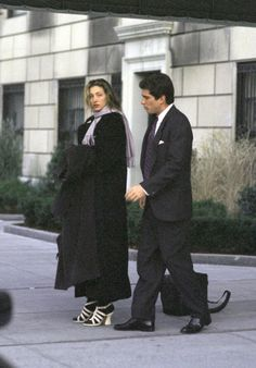 1994 – outside of Jackie's apartment   Remembering Carolyn