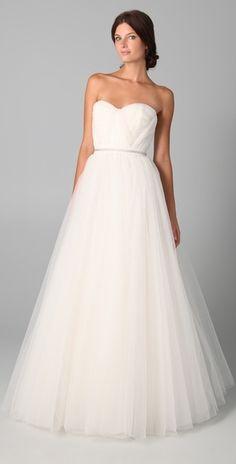 Reem Acra Virtue Gown