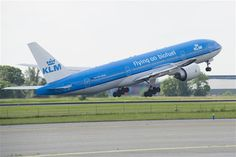 KLM. Airlines operating flights into Doha, Qatar (DOH)