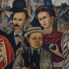 intertextuality in sueno de una tarde dominical en la alameda central by diego river This detail is from the central section of diego rivera's dream of a sunday dream of a sunday afternoon in alameda park sueno de una tarde dominical en la alemeda.