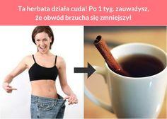 Ta herbata działa cuda! Po 1 tyg. zauważysz, że obwód brzucha się zmniejszył Dieta Fitness, Health Fitness, Body Wraps, Loose Weight, Health And Beauty, Smoothies, Bodybuilding, Food And Drink, Hair Beauty