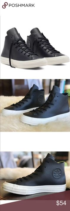 34f58a76eb0f Converse Chuck Taylor all star hi Top black Brand new shoes Smoke free home  Never worn