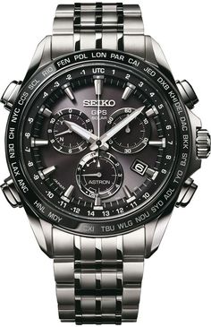 SEIKO SOLAR Dünyanın neresinde olursanız olun kendini ayarlayabilen Bomba bir… SEIKO SOLAR Bomb model that can adjust itself wherever you are in the world … Best Watches For Men, Rolex Watches For Men, Amazing Watches, G Shock Watches, Seiko Watches, Luxury Watches For Men, Beautiful Watches, Cool Watches, Mens Designer Watches