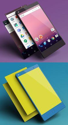 Free Basic Smartphone Mockup Design