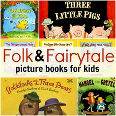 7 Folk & Fairytale Picture Books - enter for a chance to win all 7!
