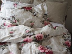 Full queen size duvet cover with pillow cover Pink by nurdanceyiz, $100.00