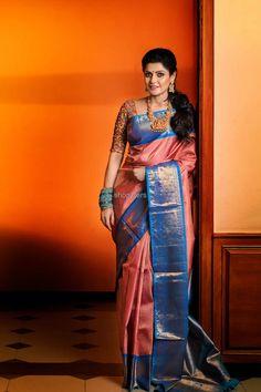 Dancing Outfits For Women Simple 45 Best Ideas Kanjivaram Sarees Silk, Indian Silk Sarees, Indian Beauty Saree, Khadi Saree, Pattu Saree Blouse Designs, Half Saree Designs, South Indian Wedding Saree, Indian Bridal, Wedding Silk Saree