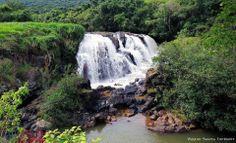 Poços de Caldas MG Cachoeira Véu da Noiva