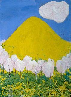 Der gelbe Hügel - Cuno Amiet