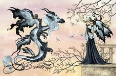 Fairy Art Artist Amy Brown: The Official Online Gallery. Fantasy Art, Faery Art, Dragons, and Magical Things Await. Gothic Fantasy Art, Beautiful Fantasy Art, Beautiful Fairies, Arte Fantasy, Beautiful Things, Anne Stokes, Fairy Pictures, Fantasy Pictures, Amy Brown Fairies