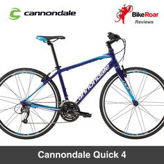 BIKE REVIEW: Cannondale Quick 4: a nimble traffic-dodging commuter bike with a comfortable riding position and very good vibration-damping qualities...   LEARN MORE: http://www.bikeroar.com/products/cannondale/quick-4-2016.   #bike #review #cannondale #bicycle #quick4 #recreation #citybike #comfort #shimano #cannondalebicycles