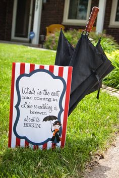 emily's photo blog: Mary Poppins Party: Decorations