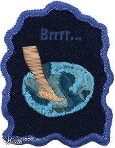 Bathing in winters...! Merit Badge