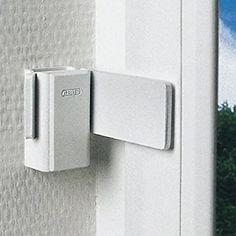 ABUS Fenster- und Tür-Sicherungswinkel SW20, weiß, 10449