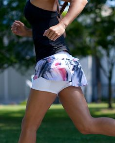 Heart running skirts!