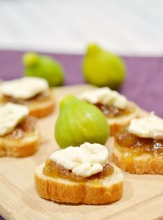 Fig and Brie Appetizers on iheartnaptime.com