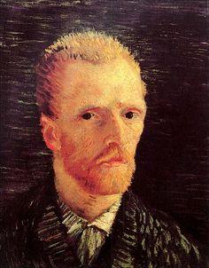 Self-Portrait, 1887-Vincent van Gogh,