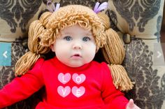 How to Make the Cabbage Patch Kids-Inspired Hat