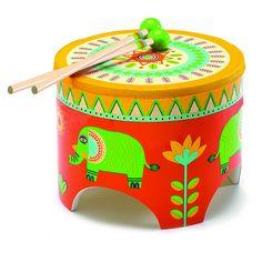Avis Tambour de sol Animambo Djeco - Des milliers d'AVIS CERTIFIÉS sur des Jeux et Jouets liés à l'éveil musical de bébé et de l'enfant : instrument de musique, livres musicaux, etc.