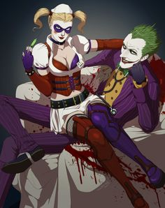 Arkham City Style Harley & Joker