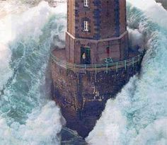 Lighthouse - I used to have a poster of this in my room when I was a young girl.  I thought it amazing.