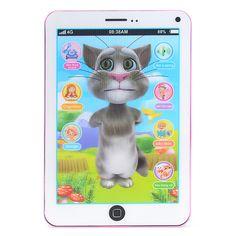 Ipad Đồ Chơi Thông Minh Hiệu Ứng 3D Đa Chức Năng Cho Bé Yêu Ipad thông minh hiệu ứng 3D đa chức năng cho bé thiết kế nhỏ nhắn, màu sắc tươi sáng bắt mắt, là món quá cực kỳ dễ thương và thú vị dành tặng cho bé yêu nhà bạn. -----Click xem thêm Thông tin & Mua Ngay bạn nhé >>>> http://muamuaonline.com/vi/ipad-do-choi-thong-minh-hieu-ung-3d-da-chuc-nang-cho-be-yeu-6812.html