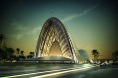 Beautiful Catholic Churches | Catholic Church of the Transfiguration by DOS Architects