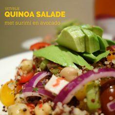 Vetvrije Quinoa Salade