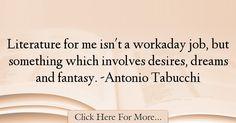 Antonio Tabucchi Quotes About Dreams - 15327