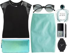 """""""acqua"""" by rosiee22 ❤ liked on Polyvore"""