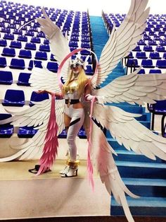 Anime Cosplay Angewomon from Digimon cosplay by Lia Ivy Digimon Cosplay, Cosplay Anime, Epic Cosplay, Amazing Cosplay, Cosplay Outfits, Cosplay Girls, Cosplay Costumes, Funny Cosplay, Female Cosplay
