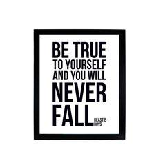 Selbst und Sie werden nie Herbst - treu sein, Beastie Boys digital drucken von theredpage auf Etsy https://www.etsy.com/de/listing/267021983/selbst-und-sie-werden-nie-herbst-treu