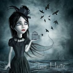Dance Of The Crows by ~THZ on deviantART