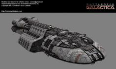 """""""Berzerk"""" class escort, a ship that only saw maybe a few seconds of air time on BSG Razor."""