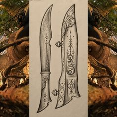 Explore Cedarlore Forge's photos on Flickr. Cedarlore Forge has uploaded 1863 photos to Flickr. Artwork Design, Design Art, Deer Antler Crafts, Knife Drawing, Knife Patterns, Weapon Concept Art, Swords And Daggers, Cool Knives, Handmade Knives