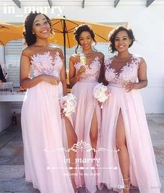 Blush Pink Plus Size Country Bridesmaids Dresses 2017 A Line Illusion Long Chiffon Vintage Lace Cap Sleeves Split Cheap Simple Maid Of Honor Long Bridesmaids Dresses 2017 Bridesmaids Dresses Plus Size Bridemadis Dresses Online with $146.29/Piece on In_marry's Store | DHgate.com